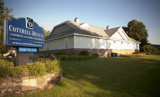 Cottrell Dental Office Sign
